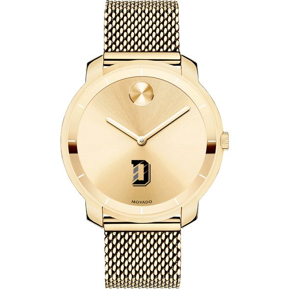 Davidson College Women's Movado Gold Bold 36 - Image 2