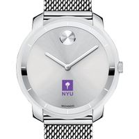 New York University Women's Movado Stainless Bold 36