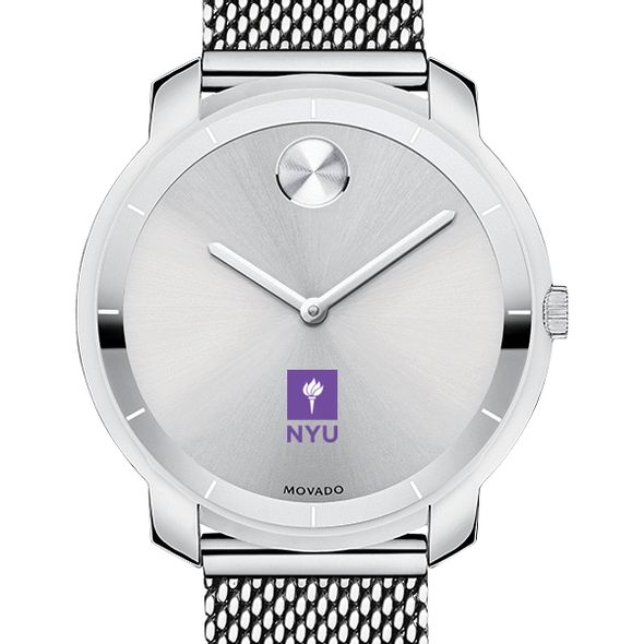 New York University Women's Movado Stainless Bold 36 - Image 1