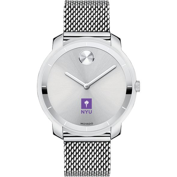 New York University Women's Movado Stainless Bold 36 - Image 2