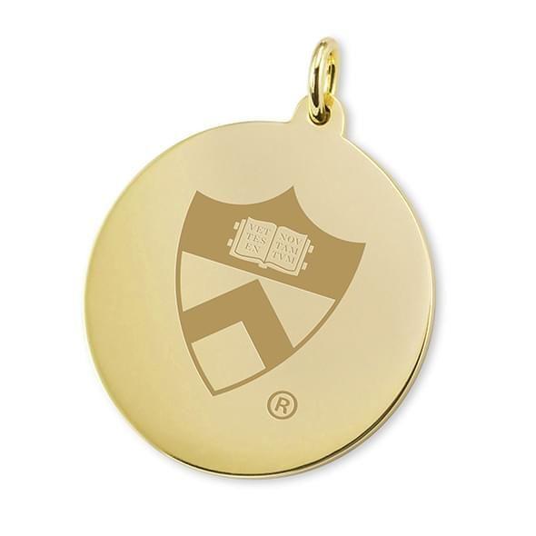 Princeton 18K Gold Charm