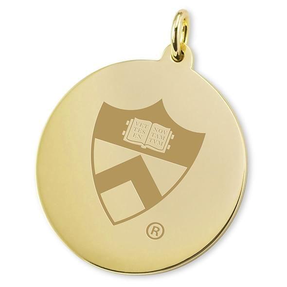 Princeton 18K Gold Charm - Image 2