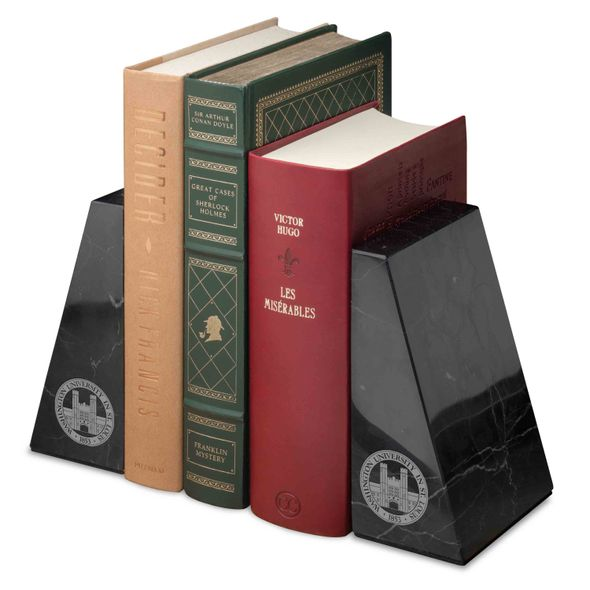 WashU Marble Bookends by M.LaHart