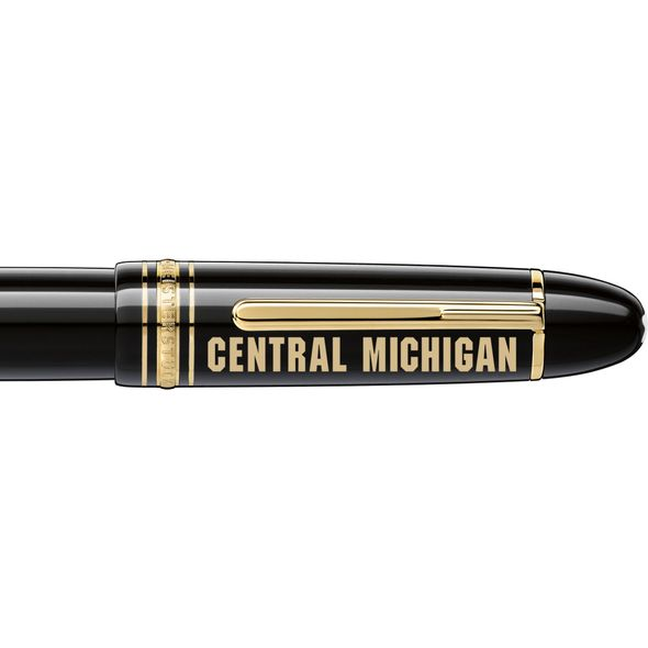 Central Michigan Montblanc Meisterstück 149 Fountain Pen in Gold - Image 2