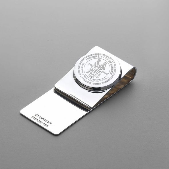 Kentucky Sterling Silver Money Clip