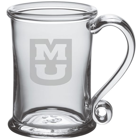University of Missouri Glass Tankard by Simon Pearce