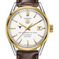 Texas Men's TAG Heuer Two-Tone Carrera with Strap
