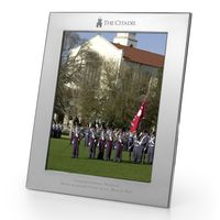 Citadel Polished Pewter 8x10 Picture Frame