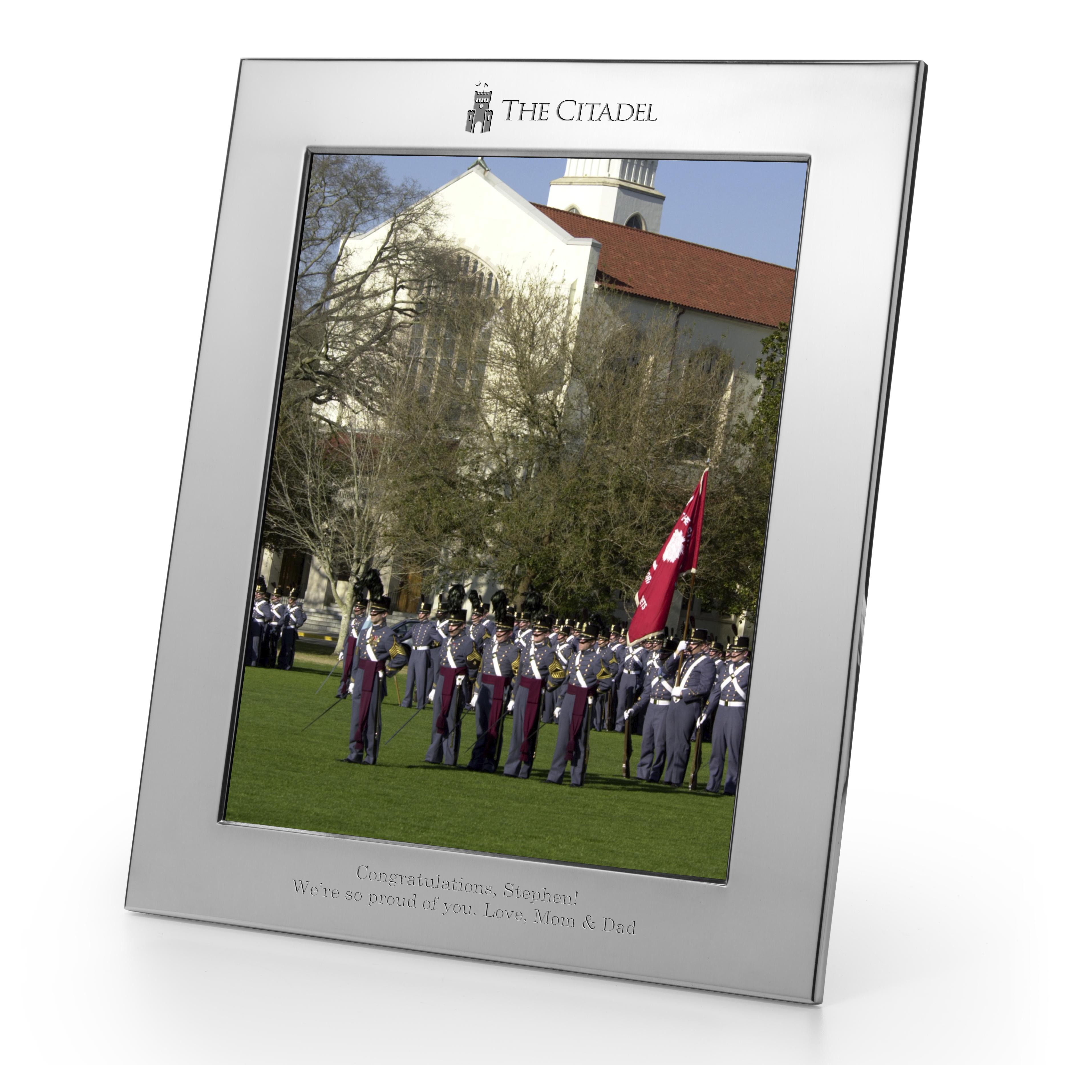 Citadel Polished Pewter 8x10 Picture Frame