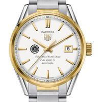 Notre Dame Men's TAG Heuer Two-Tone Carrera with Bracelet