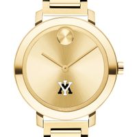 Virginia Military Institute Women's Movado Gold Bold 34