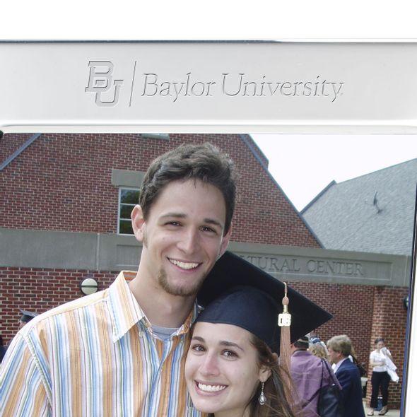 Baylor Polished Pewter 5x7 Picture Frame - Image 2