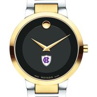 Holy Cross Men's Movado Two-Tone Modern Classic Museum with Bracelet