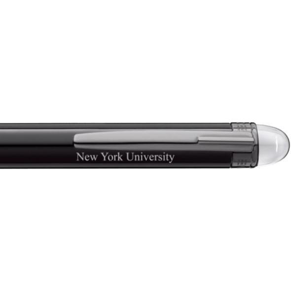 New York University Montblanc StarWalker Ballpoint Pen in Ruthenium - Image 2