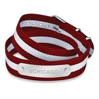 Chicago Double Wrap NATO ID Bracelet