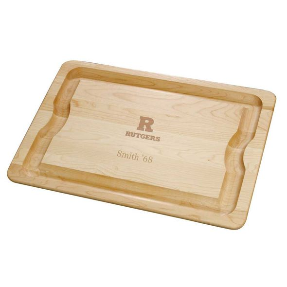 Rutgers University Maple Cutting Board - Image 1