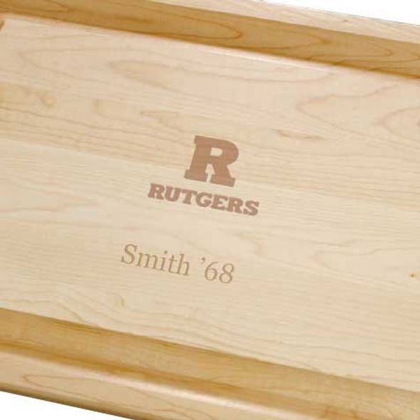 Rutgers University Maple Cutting Board - Image 2