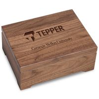 Tepper Solid Walnut Desk Box