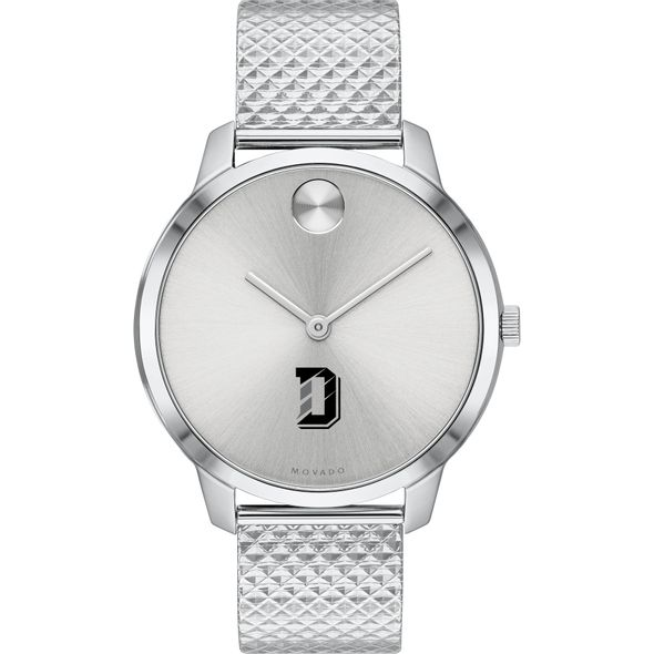 Davidson College Women's Movado Stainless Bold 35 - Image 2