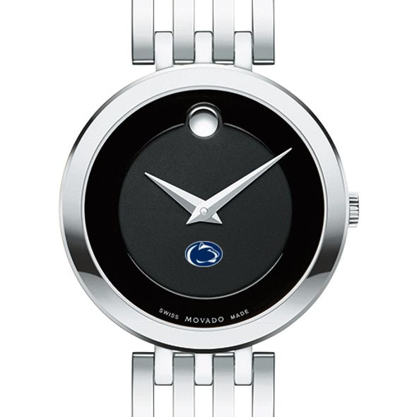 Penn State University Women's Movado Esparanza Stainless Steel Museum with Bracelet