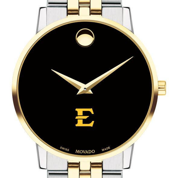 East Tennessee State Men's Movado Two-Tone Museum Classic Bracelet