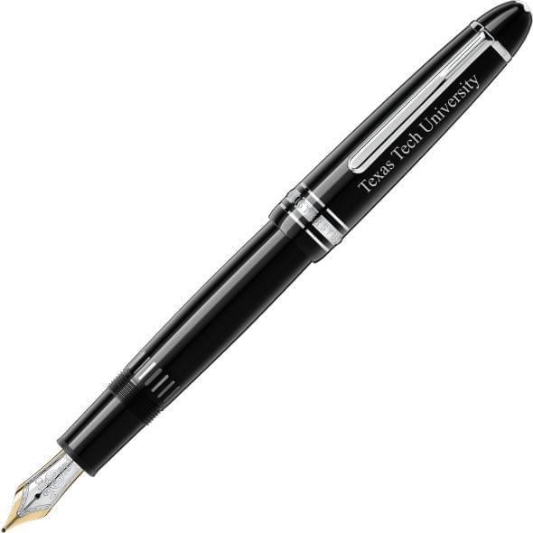 Texas Tech Montblanc Meisterstück LeGrand Pen in Platinum