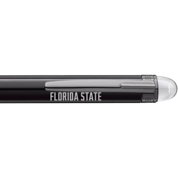 Florida State University Montblanc StarWalker Ballpoint Pen in Ruthenium - Image 2