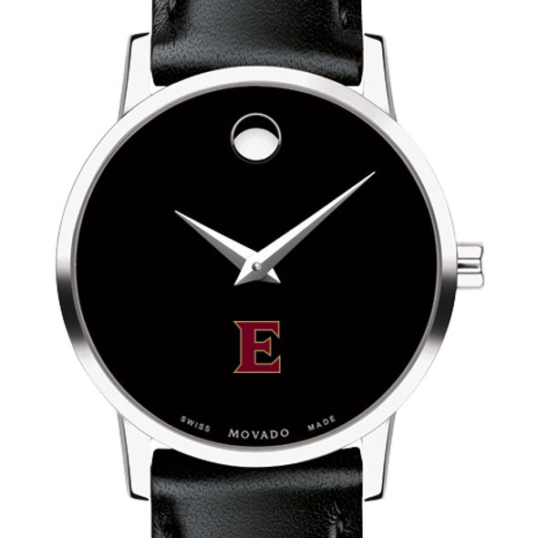 Elon Women's Movado Museum with Leather Strap
