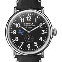 USAFA Shinola Watch, The Runwell 47mm Black Dial