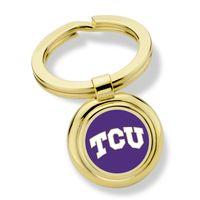 Texas Christian University Enamel Key Ring