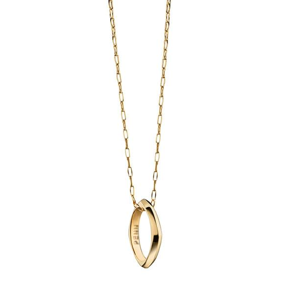 Penn Monica Rich Kosann Poesy Ring Necklace in Gold - Image 2