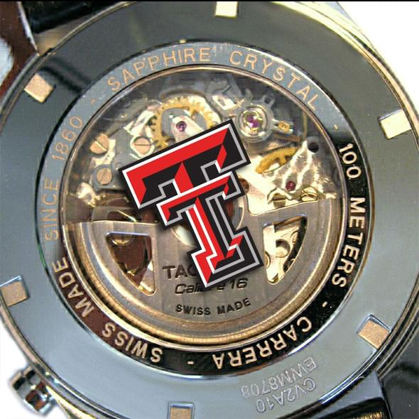 Texas Tech Men's TAG Heuer Carrera Tachymeter - Image 2