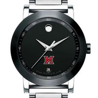 Miami University Men's Movado Museum Sport Bracelet
