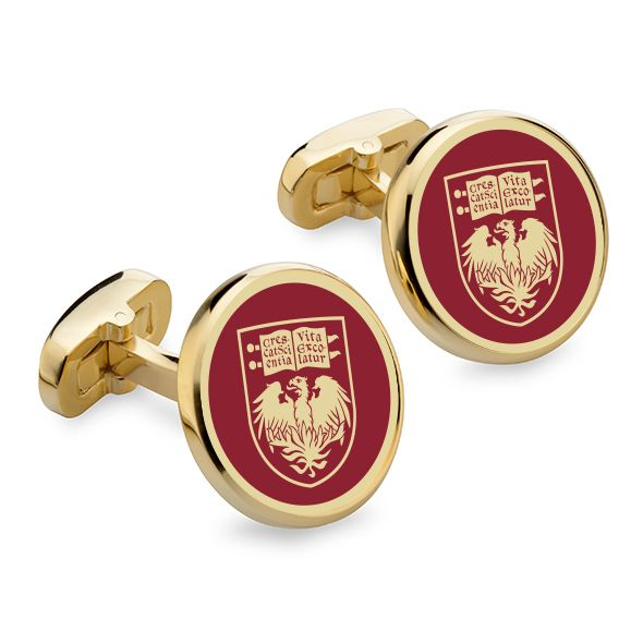 Chicago Enamel Cufflinks - Image 1