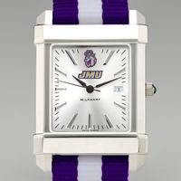 James Madison University Collegiate Watch with NATO Strap for Men