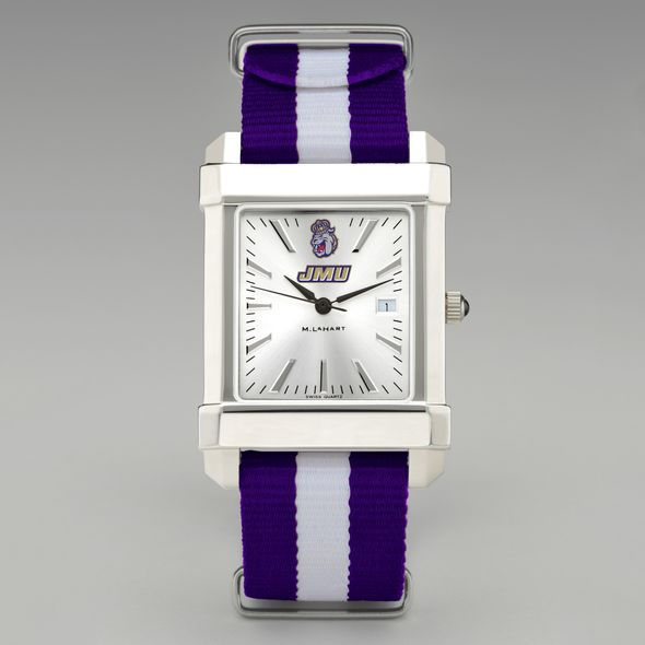 James Madison University Collegiate Watch with NATO Strap for Men - Image 2