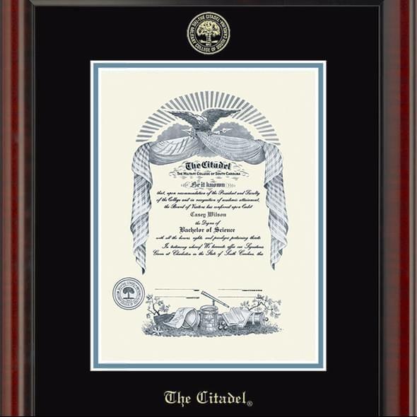 Citadel Diploma Frame, the Fidelitas - Image 2