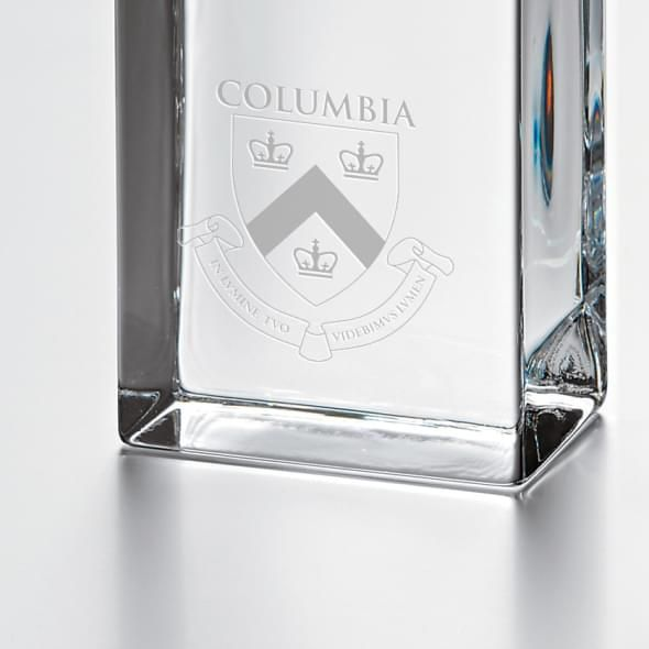 Columbia Tall Class Desk Clock by Simon Pearce - Image 2