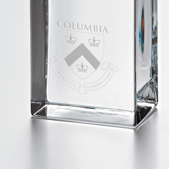 Columbia Tall Class Desk Clock by Simon Pearce - Image 2