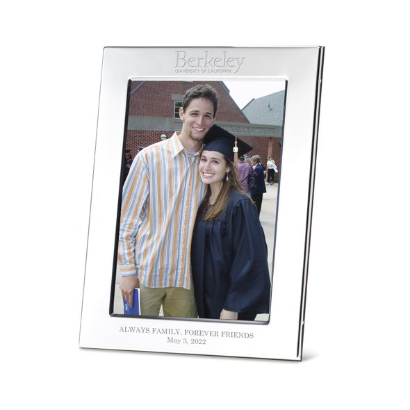 Berkeley Polished Pewter 5x7 Picture Frame - Image 1