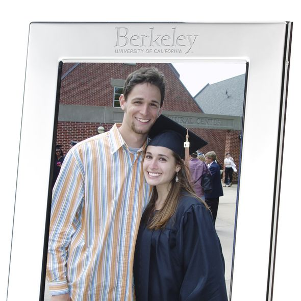 Berkeley Polished Pewter 5x7 Picture Frame - Image 2