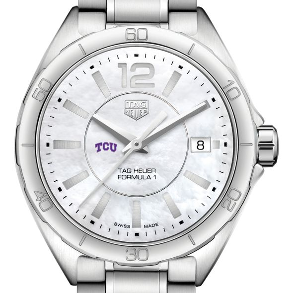 Texas Christian University Women's TAG Heuer Formula 1 with MOP Dial