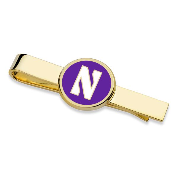Northwestern Tie Clip