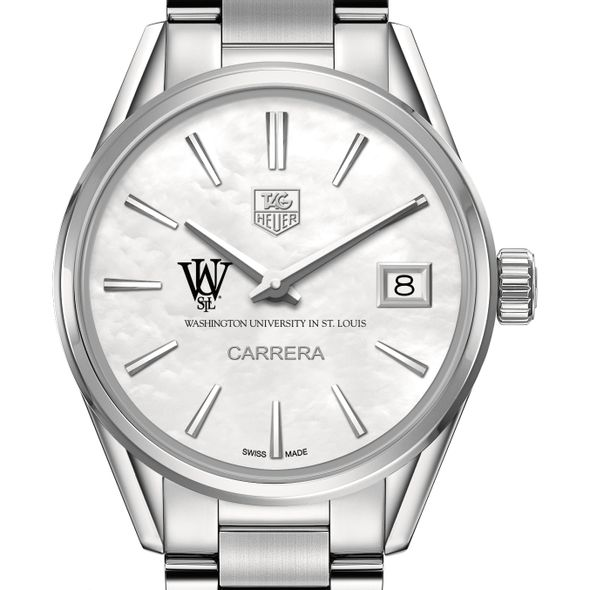 WUSTL Women's TAG Heuer Steel Carrera with MOP Dial