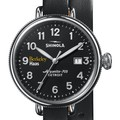 Berkeley Haas Shinola Watch, The Birdy 38mm Black Dial - Image 1