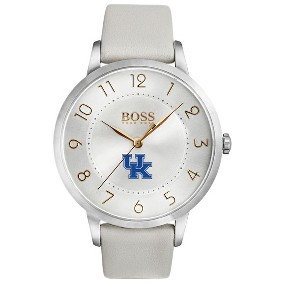 University of Kentucky Women's BOSS White Leather from M.LaHart - Image 2