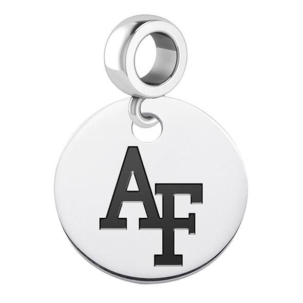 Air Force Academy Round Dangle Charm - Image 2