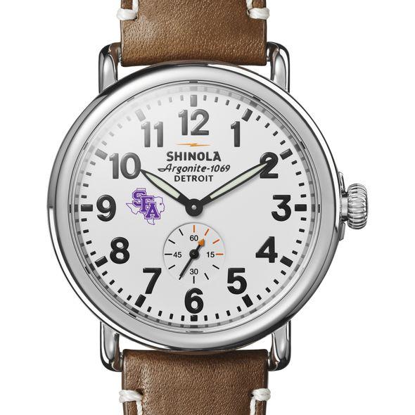 SFASU Shinola Watch, The Runwell 41mm White Dial