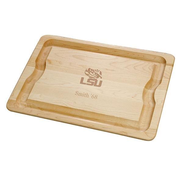 LSU Maple Cutting Board - Image 1
