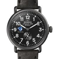 Seton Hall Shinola Watch, The Runwell 41mm Black Dial